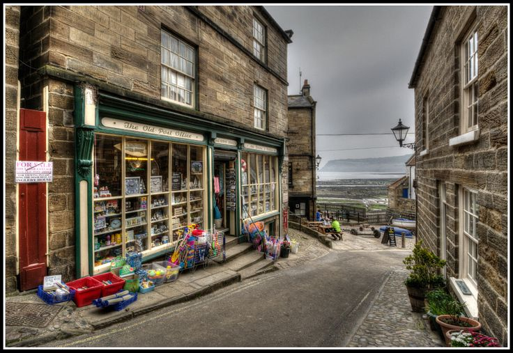 2014.05.20 - Robin Hoods Bay Post Office by David R Williams - Photo 77144783 - 500px