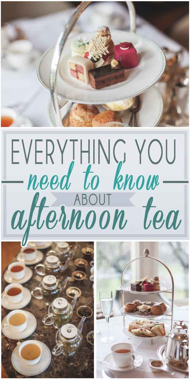 18 Things You Need To Know About Afternoon Tea