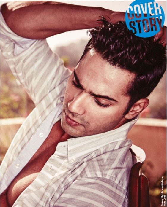 Chocolate boy Varun Dhawan on Cover of FHM India June 2015 Issue