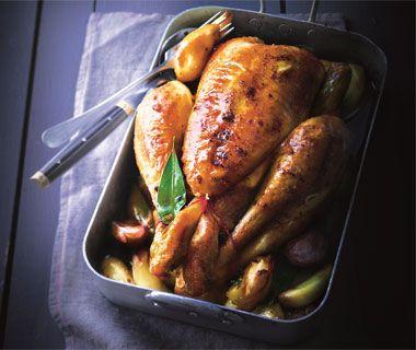 Le fameux poulet rôti d'Eric Frechon