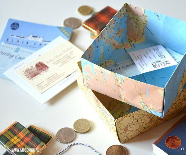 Stap voor stap een origami doosje met deksel vouwen | Moodkids