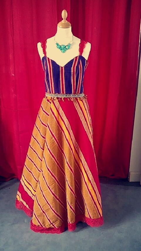 25 ide terbaik tentang mode nigeria di pinterest corak for Robe pour mariage cette combinaison bijoux mariee