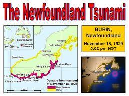 newfoundland tsunami - Google Search