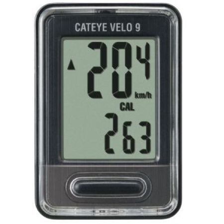 Cateye Velo 9 Wired Cycle Computer Cycle Along with current, average, and max speed measurement, track your trip distance, elapsed time, and odometer. Now featuring calorie consumption and a carbon offset measurement to help you track how mu http://www.MightGet.com/january-2017-11/cateye-velo-9-wired-cycle-computer-cycle.asp