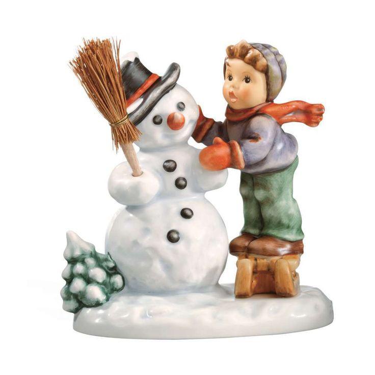M.I. Hummel Figurine Making New Friends, HUM 2002/0, Helmut Fischer 10cm 2002004 #Hummel