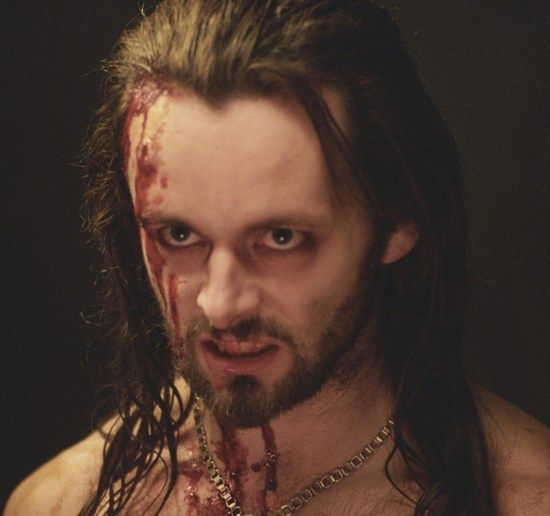 Michael Sheen as Lucian, the Lycan leader in Underworld.