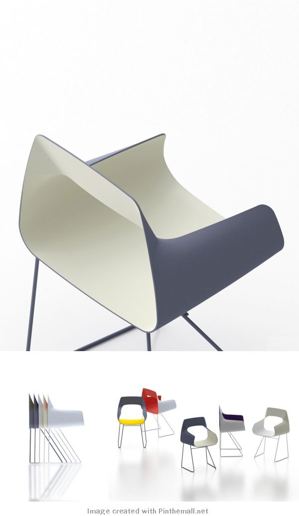 Bowling Nesting Chair   Concept   The Bowling Chair Is A Refined,  Graphically Bold, Plastic Molded Nesting Chair Inspired By The Two Tone  Fiberglass Chairs ... Photo Gallery