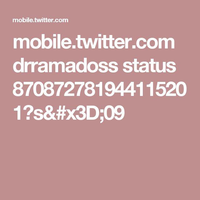 mobile.twitter.com drramadoss status 870872781944115201?s=09