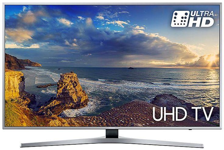 """Samsung UE49MU6400  Description: Samsung UE49MU6400SXXN: 49"""" prachtige kleuren Voor wie intens wil genieten van prachtige kleuren en een ongekende helderheid is de Samsung UE49MU6400SXXN een must. Deze prachtige TV staat niet alleen mooi in elk interieur dankzij zijn slanke design maar geeft ook nog eens prachtig beeld. Ook is de Samsung MU6400 een Smart TV met de handige One Remote afstandsbediening. Je sluit al jouw randapparatuur en de TV aan op de One Connect Mini box en je bediend al…"""
