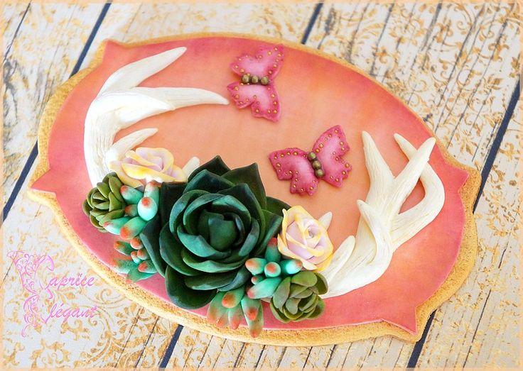 Magnet gourmand en pâte polymère Fimo par Tania Villard Hirsig / Caprice élégant