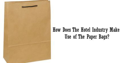Many hotels use brown paper bags wholesale of superior quality with their brand's logo imprinted on them as laundry bags or souvenir bags. These bags are hung in the closet of each room; you can take the extra holiday shopping home in those sturdy bags.