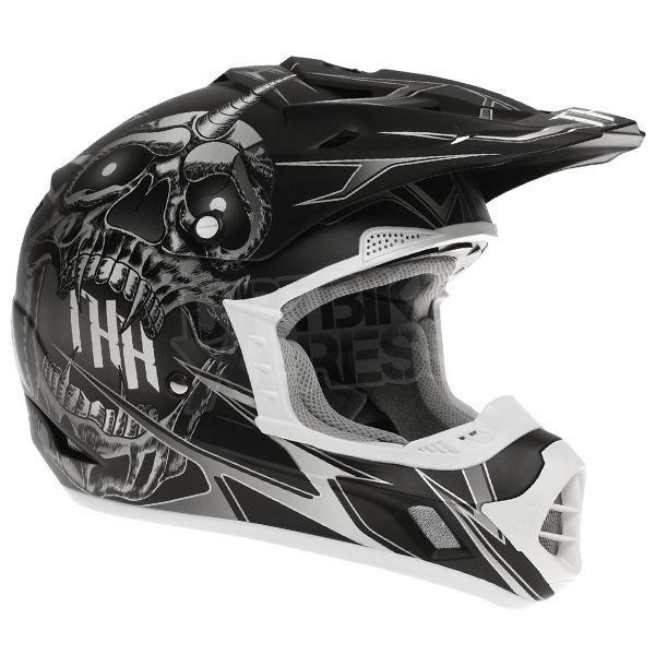 2015 THH TX-12 Helmet - Demon Black Grey