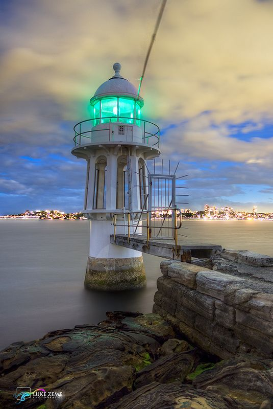 Everything's well-lit in Sydney! ˚Cremorne Point Light - Sydney