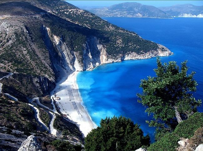 Myrtos beach - Kefalonia Island, Greece
