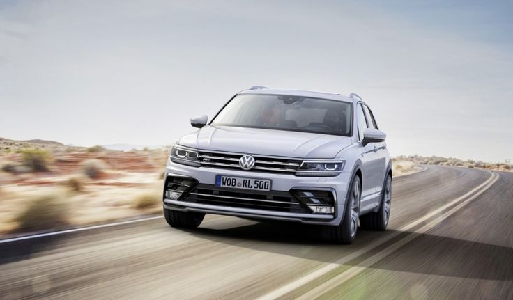 India-bound 2016 VW Tiguan R-Line front unveiled ahead of debut