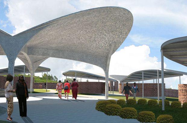 """En la categoría de """"Civismo y Comunidad"""", el ganador es el Centro de Oportunidades para Mujeres en Ruanda por los arquitectos de Nueva York,..."""