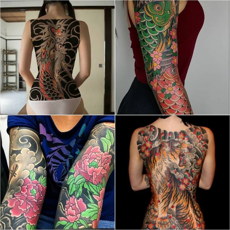 japanese tattoos irezumi meaning and history with pictures - 736×736