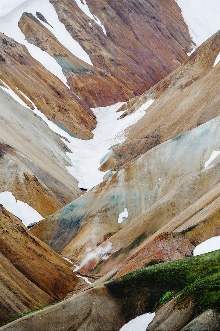 One of our favorite hikes! Look at these colors :) Read more about our hike to Landmannalaugar in Iceland here! Travel & Photography All the places you will go