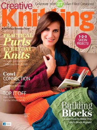 Take a sneak peek at a preview of our latest issue, full of patterns, yarn, features, giveaways and more!