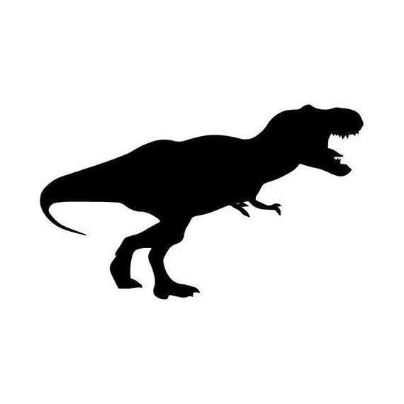 T Rex Vector Eps Dxf Svg Png Vinyl Cutter Ready Etsy In 2021 Dinosaur Outline Svg Vinyl Cutter