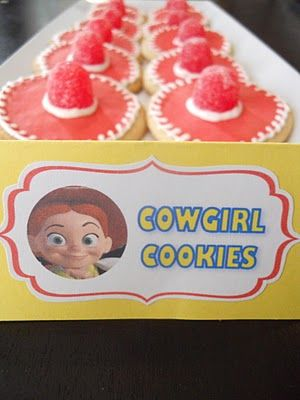 cowgirl cookies....how cute are these?