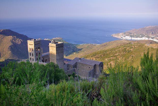 Monastère de San-Père-de-Roda #Randonnée de Collioure à #Cadaquès