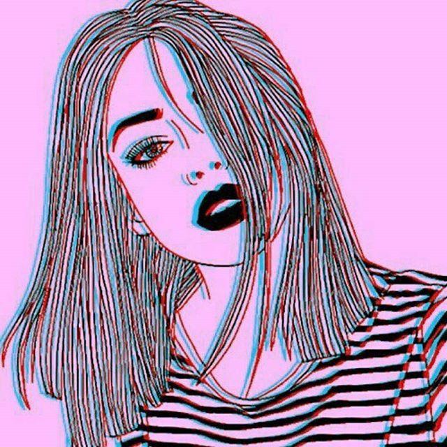 Trovo illustrazioni belle belle che mi somigliano.  ..O almeno così mi pare.   #illustration #art #pink #girl #lipstick #stripes #loveit #photooftheday #drawing #like4like #coolstuff #likeforlike #instagood #blackandwhite #selfie #inlove    #Regram via @__chiarascura)