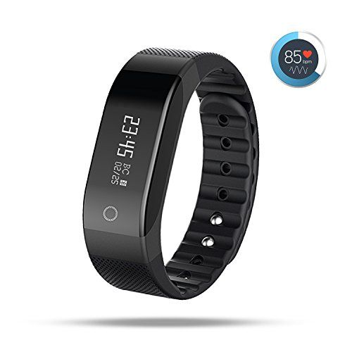 AOKII Wirless Fitness Tracker,Sport Wristband with Multi-Functions Activity Smart Bracelet with Heart Rate Monitors for IOS Android Activity Watch Wristband.(Black) -  http://www.wahmmo.com/aokii-wirless-fitness-trackersport-wristband-with-multi-functions-activity-smart-bracelet-with-heart-rate-monitors-for-ios-android-activity-watch-wristband-black/ -  - WAHMMO
