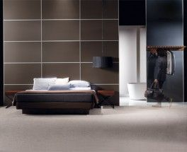 Sleek and sophisticated bedroom featuring James Hardie ARChitectural™ and Invibe™  Panels