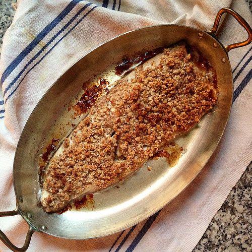 Desert Candy حلويات الصحراء: Almond-Crusted Fish