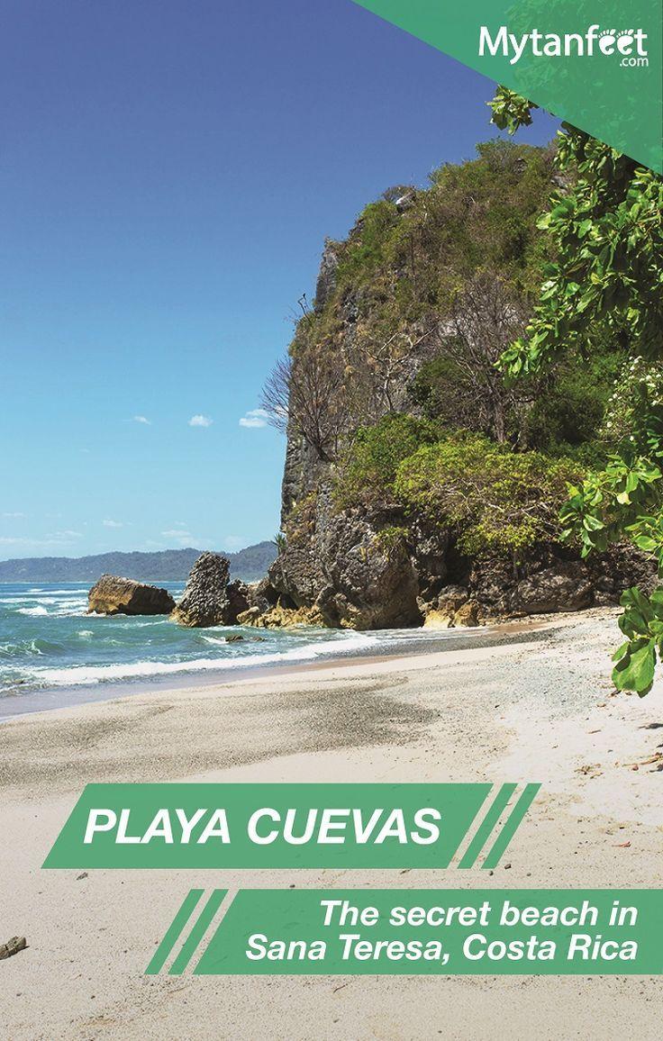 Playa Cuevas Costa Rica Aka Los Suecos Mal Pais