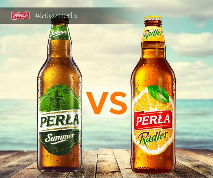 Które z naszych letnich piw wolicie? Summer czy Radler?