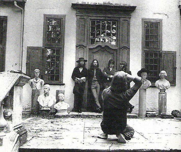 "August 22, 1969. Tittenhurst Park: ""It was just a photo session. I wasn't there thinking, 'OK, this is the last photo session.'"" ~ Ringo Starr"