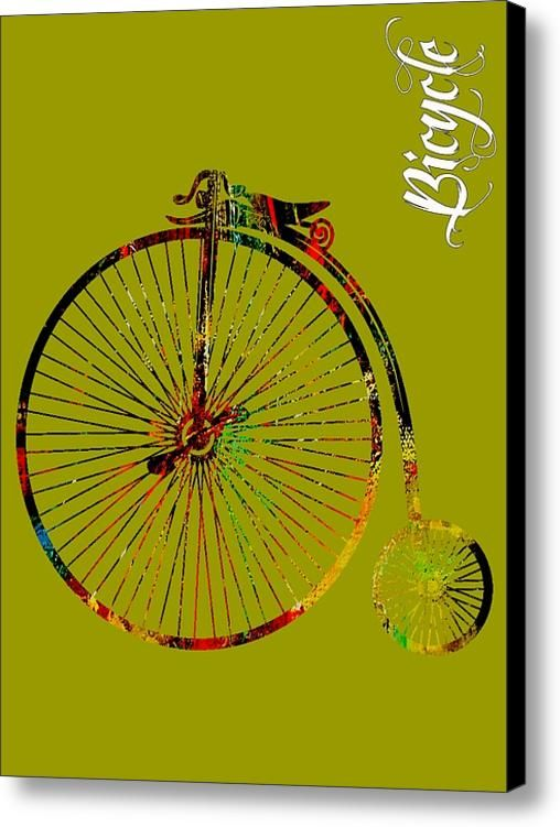 Bicycle Collection Canvas Print / Canvas Art By Marvin Blaine
