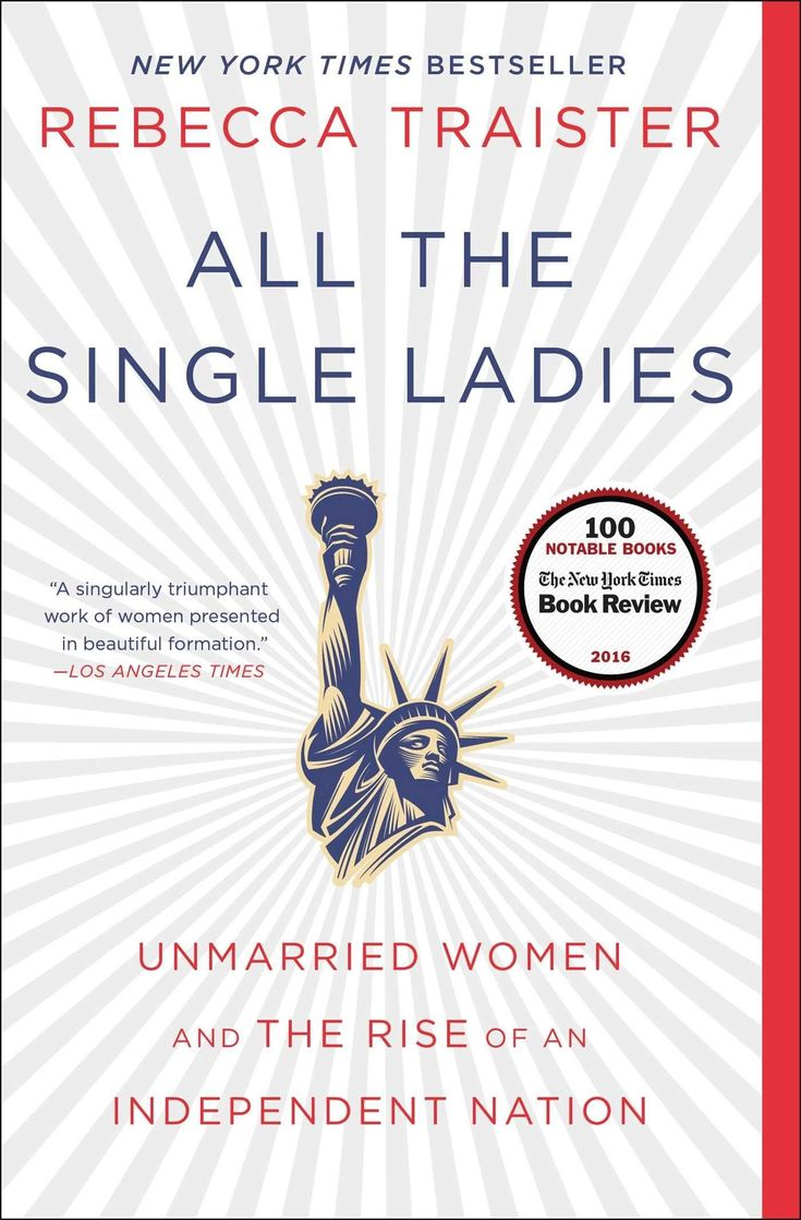 """All The Single Ladies: Unmarried Women and The Rise of the an Independent Nation by Rebecca Traister Plus Free """"Read Feminist Books"""" Pen"""