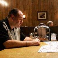 "E ONLINE (August 27, 2014) ~ Answer: NOT DEAD. ""Is Tony Soprano Dead? David Chase Finally Answers That Burning Question About The Sopranos Finale"" [Click for article]"