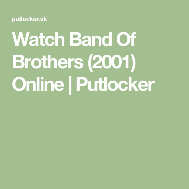 Watch Band Of Brothers (2001) Online | Putlocker