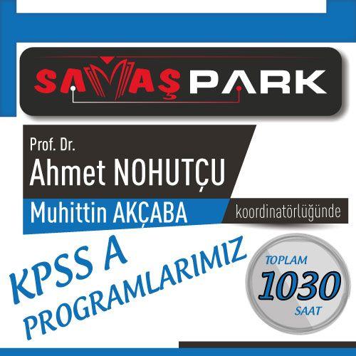 Prof. Dr. Ahmet NOHUTÇU ve Muhittin AKÇABA Koordinatörlüğünde KPSS A Programları
