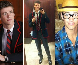 Grant Gustin... I know he's supposed to be the glee villain but he's really cute(:
