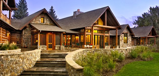 The ranch style is an art form unique to america low for Western ranch style homes