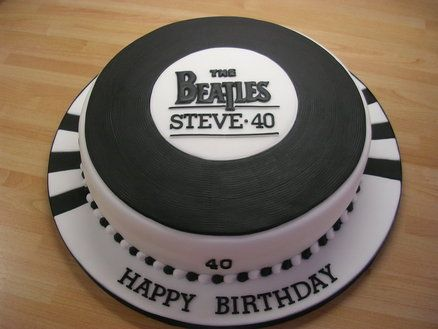 Record cake For Scotty
