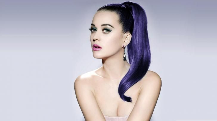 Katy Perry Singer Blue Hair Woman People Hd Wallpaper 1228148: 24 Best Ketty Perry Images On Pinterest
