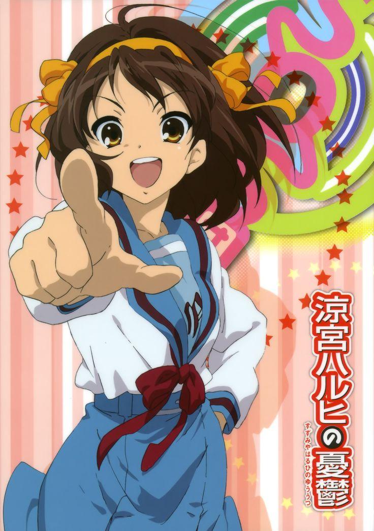 Suzumiya Haruhi Image 152762 Zerochan Anime Image Board