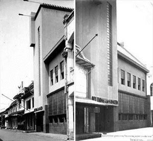 Kantor Pusat konglomerat Oei Tiong Ham Concern di Jl. Kepodang   1930 > Villa milik keluarga Dr. Ir. Han Tiauw Tjong di Jl. Tumpang   1932 >...