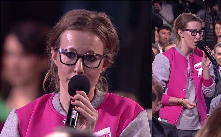Ксения Собчак на пресс-конференции 18 декабря задала пару вопросов президенту Владимиру Путину.