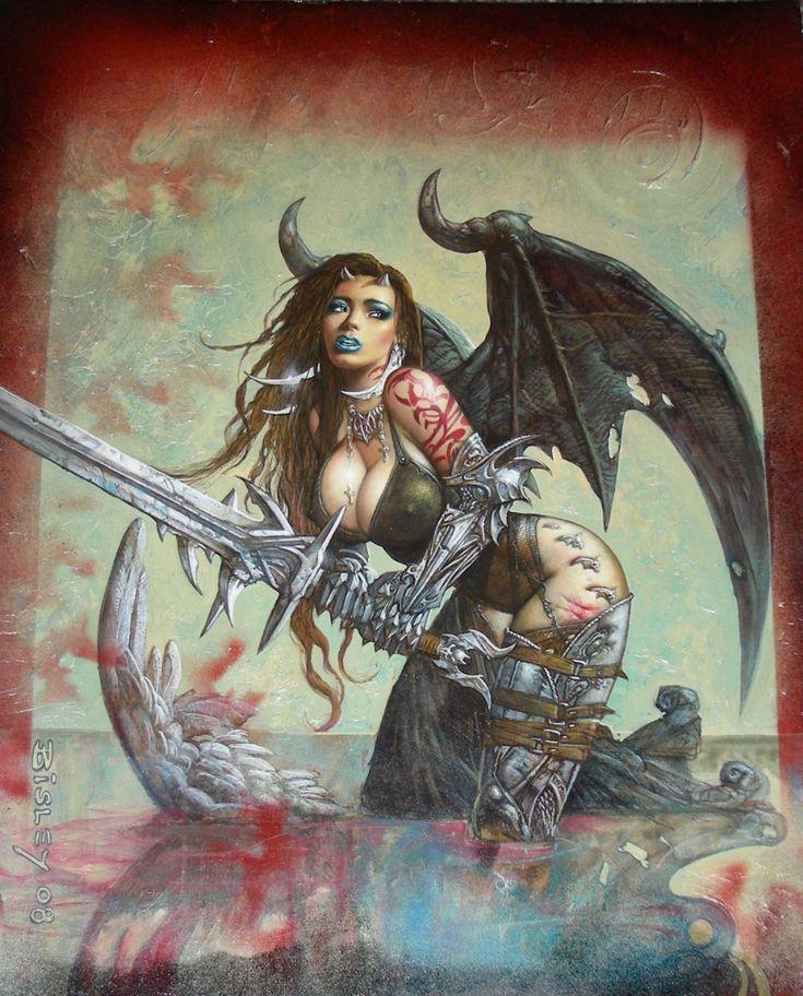 Heavy Metal Cover art by Simon Bisley Comic Art