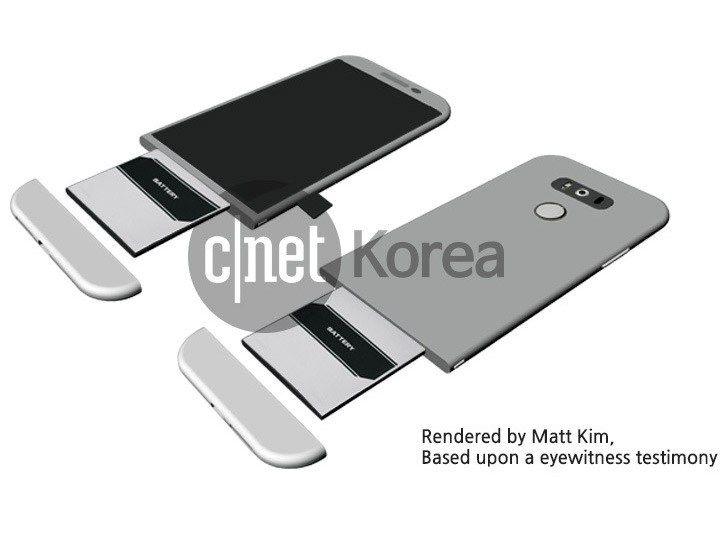 G5 de la LG va epata printr-un design revolutionar