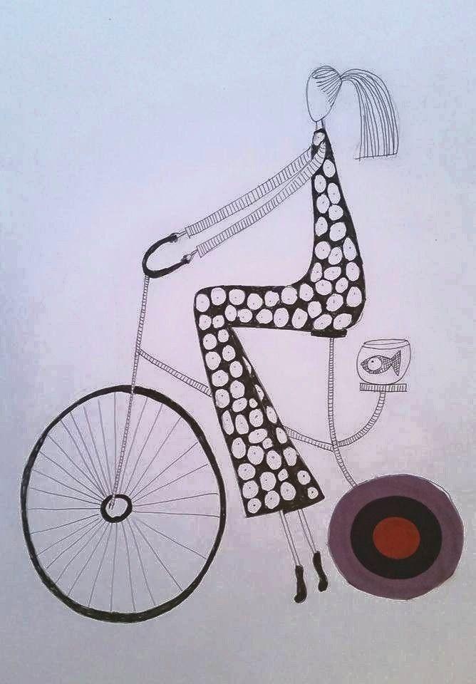 City girl.  Made by Bente Sandtorv.
