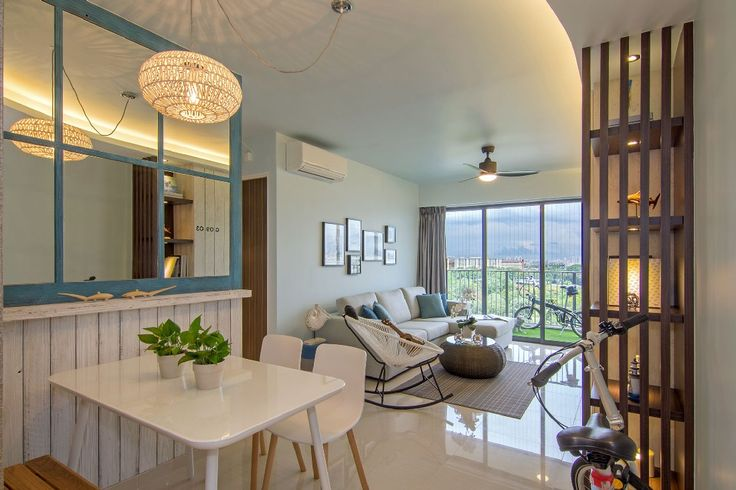 Urban Beach House in Singapore Exudes Freshness - http://freshome.com/urban-beach-house-singapore/