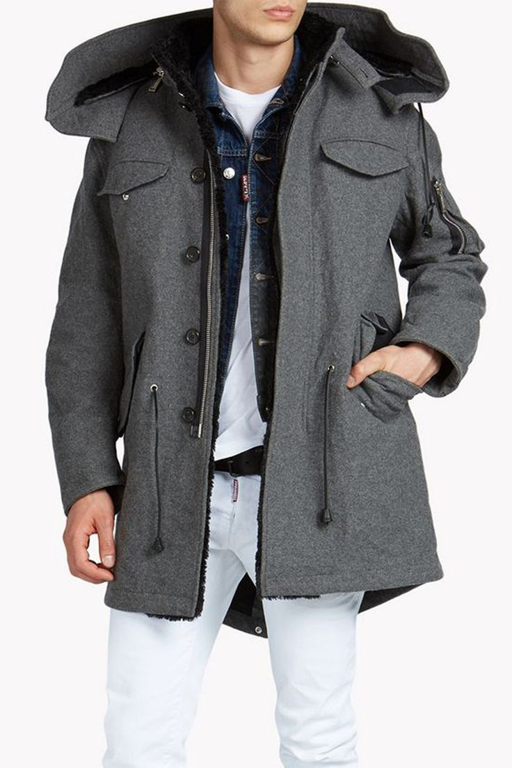 Layer-up everything you own with this season's best parkas - GQ.co.uk